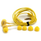 Remax 515 Universal Candy In-Ear Earphone With Microphone - Yellow