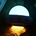 YouOKLight YK2231 UFO Shape 5-LED Cold White Sensor Night Lamp - Blue