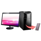 GULEEK GPC Intel Z8300 Win10 Smart Super PC, 2GB RAM 32GB ROM - Coffee
