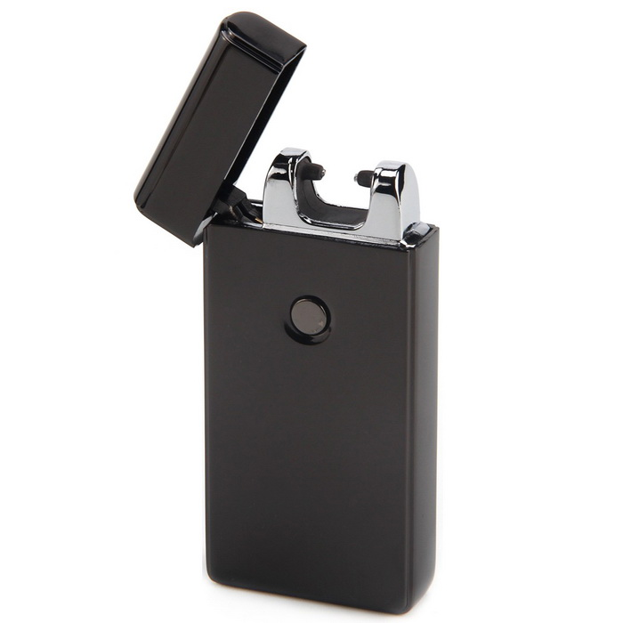 MAIKOU Single Electrical Arc USB Rechargeable Lighter - Black Ice