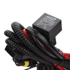 QooK Xenon HID Conversion Relay Wiring Harness for H11 / 9005 / 9006