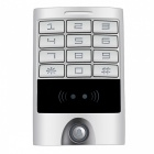 Metal Keypad Panel Access Control & Reader for Entry Security - Silver