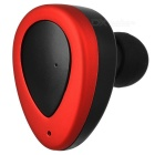 FreeStereo Twins Wireless Bluetooth v4.1 In-Ear Headset - Red + Black