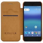 NILLKIN QIN Series Protective PU + PC Case for Google Pixel XL - Brown