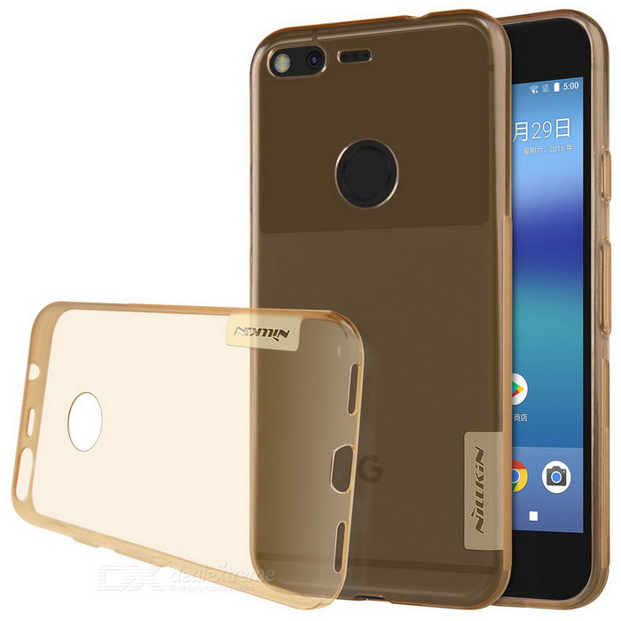 NILLKIN Protective TPU Back Cover Case for Google Pixel XL - Brown