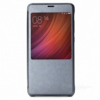Original Protective Flip Leather Case for Xiaomi Redmi Pro - Blue Gray