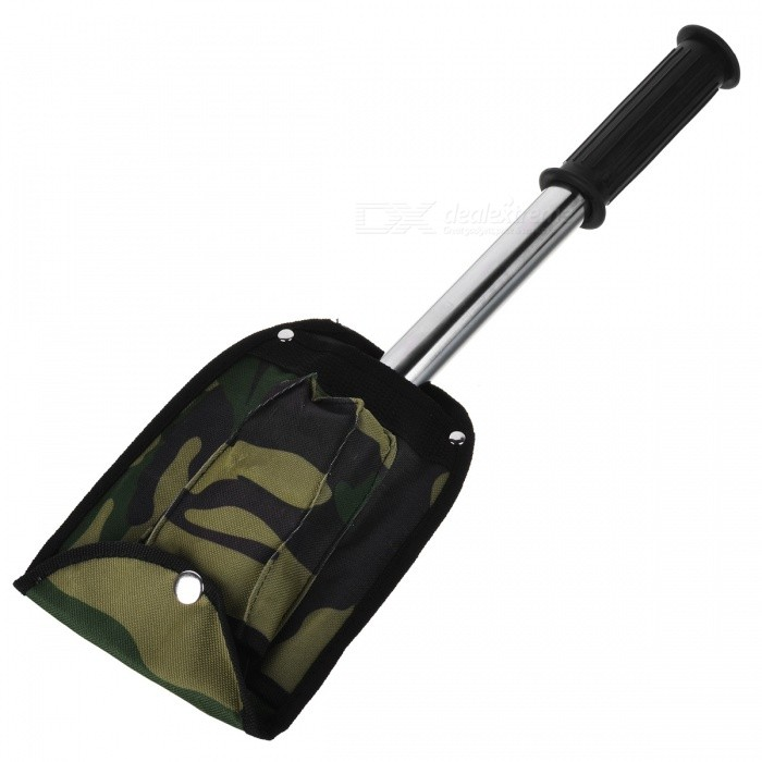 Wilderness Survival Stainless Steel 4-in-1 Knife + Axe + Shovel + Saw