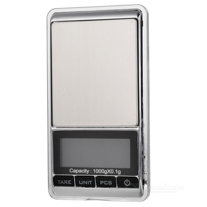 "JEDX 1.8"" Electronic 5-Digital LCD Display Jewelry Scale (1000g/0.1g)"