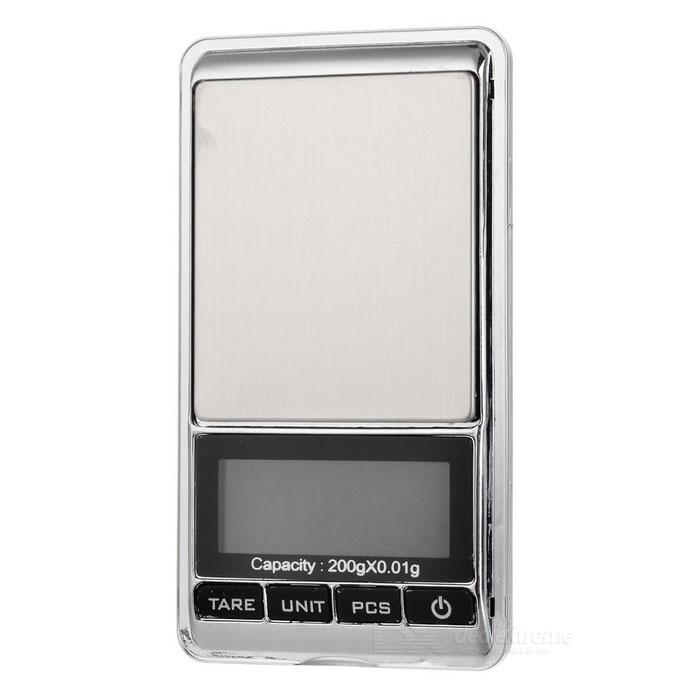"JEDX 1.8"" Electronic 5-Digital LCD Display Jewelry Scale (200g/0.01g)"