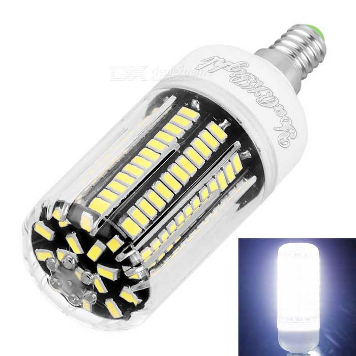 YouOKLight E12 12W LED Corn Bulb Cold White Light 136-LED 5733-SMDOther Connector Bulbs<br>Color BINCool WhiteModelYK1083MaterialAluminum and PlasticForm  ColorWhite + Black + Multi-ColoredQuantity1 DX.PCM.Model.AttributeModel.UnitPower12WRated VoltageAC 110 DX.PCM.Model.AttributeModel.UnitConnector TypeOthers,E12Chip BrandOthers,CHANG FANGEmitter TypeOthers,5733 SMD LEDTotal Emitters136Actual Lumens1100 DX.PCM.Model.AttributeModel.UnitColor Temperature6000KDimmableNoBeam Angle360 DX.PCM.Model.AttributeModel.UnitCertificationCE, RoHS, FCC, WEEEPacking List1 * LED Corn Bulb<br>