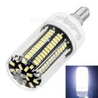 YouOKLight E12 12W LED Corn Bulb Cool White Light 136-LED 5733-SMD
