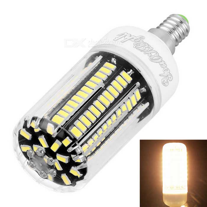 youoklight E12 12W LED majs lampa varmvitt ljus 136 LED 5733-SMD