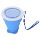 EDCGEAR Outdoor Travelling Retractable Silicone Water Bottle -Sapphire