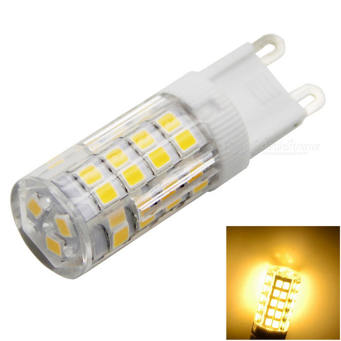 meshion G9 5W 500lm 51-2835SMD 3000K LED Crystal Lamp Bulb Warm White