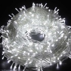 12W 200LED Decorative Cool White Christmas Twinkle String Lights (20m)