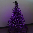 12W 200-LED Purple Light Christmas Twinkle String Lights (20m)