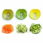 3 in1 Multifunctional Funnel Type Manual Vegetable Cutter Slicer