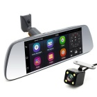 JUNSUN A7 Quad-Core Full HD 1080P Dual Lens Rearview Mirror Car DVR