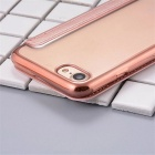 Flip Open PU Leather Case w/ Card Slot for IPHONE 7 - Rose Gold