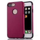 "Protective PC + TPU Back Case Cover for IPHONE 7 PLUS 5.5"" - Deep Pink"