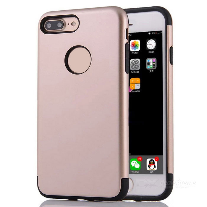 "Protective PC + TPU Back Case Cover for IPHONE 7 PLUS 5.5"" - Golden"
