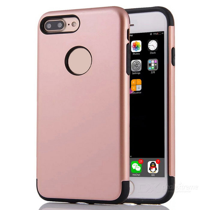 "Protective PC + TPU Back Case Cover for IPHONE 7 PLUS 5.5"" - Rose Gold"