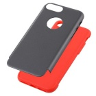 "Protector PC + TPU trasero para IPHONE 7 PLUS 5.5"" - gris + rojo"