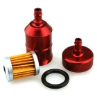 IZTOSS MP297 Cross Country Pedal Motorcycle 6mm Gasoline Filter - Red