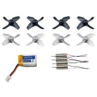 H36-0004 Accessories Kit for JJRC H36 Quadcopter - Black + Gray