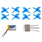 H36-0004 Accessories Kit for JJRC H36 Quadcopter - Blue
