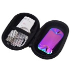 Pebbles Style USB Charging Double-Sided Electronic Lighter - Dazzle