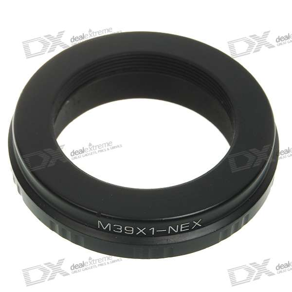 M39X1-NEX Lens Mount Adapter Ring for Sony DSLR black sliver 25mm f 1 8 hd mc manual focus lens for sony e nex mount camera a7 a7r a7s a7rii a7sii a6300 a6000 nex 7
