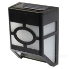 Outdoor 0.2W 2-LED On / Off Solar Fence Light / Street Light / Home Light, Fixed in Any Places
