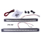QooK 12-LED White Light Car Auto DRL Daytime Running Lamp (2 PCS)