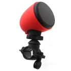 Ourspop OP-86 Bicycle Bluetooth Speaker with Hands-free Call - Red