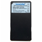 Ismartdigi VBK180 Micro USB Battery Charger for Panasonic - Black