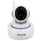 HOSAFE 2MP 1080P Wireless Pan / Tilt IP Camera w/ 2-Way Voice - White