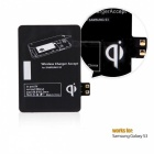 QI Samsung Galaxy S3 Wireless Charging Receiver - Black