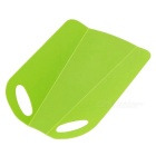 Foldable Anti-Skid PP Chopping Block / Cutting Board - Green
