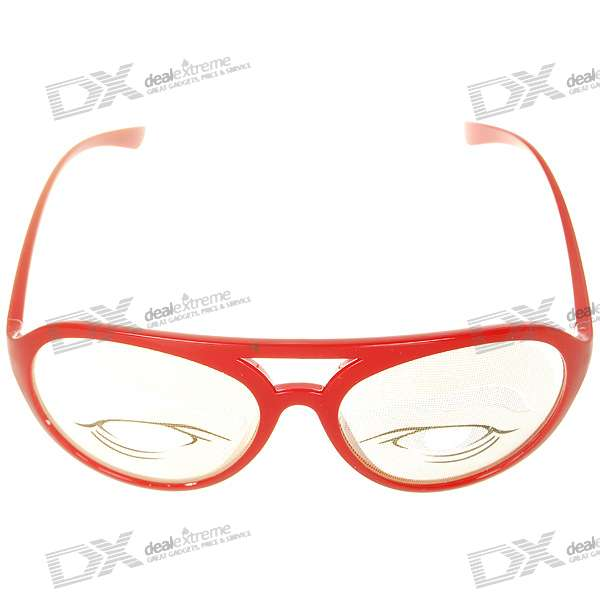 Decorative UV400 Eyes Glasses (Color Assorted)