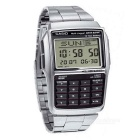 Casio DBC-32D-1ADF Calculator Digital Watch - Silver + Black