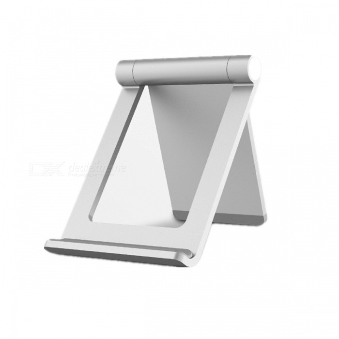 Mini Foldable Metal Bracket / Mount for Mobile Phone - Silver