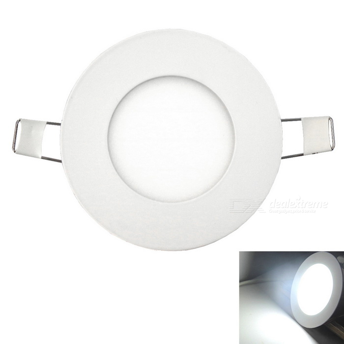 Ultra-thin 4W 350lm 20-2835SMD LEDs Embedded Ceiling Cold White Light