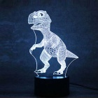 3D Stereo Dinosaur Shape LED Colorful Gradient Night Light Table Lamp