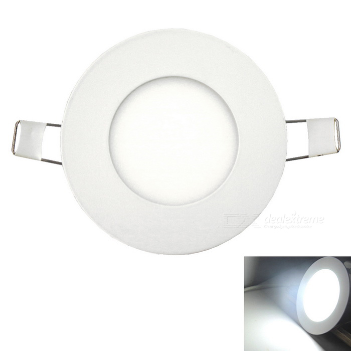 Ultra-thin 3W  250lm 15-2835SMD LEDs Embedded Ceiling Cold White Light
