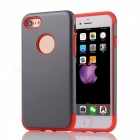 "Protective PC + TPU Back Case Cover for IPHONE 7 4.7"" - Grey + Red"