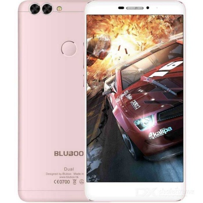 BLUBOO dual android 6.0 4G smartphone w / 2GB RAM, 16 GB ROM - rose goud