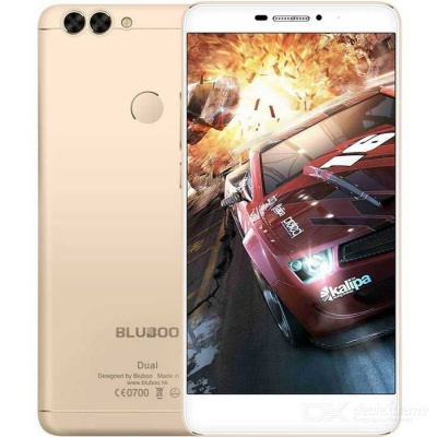 BLUBOO dual android 6.0 4G smartphone w / 2GB RAM, 16 GB ROM - golden