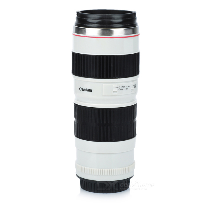 Unique Simulation Dummy Zoom Lens Thermos Mug Cup (350ml) non working fake dummy phone sample display model for iphone 5