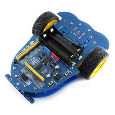 Waveshare AlphaBot, Mobile Robot for Raspberry Pi / Arduino - Blue